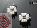Cercei printati 3D