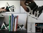 Print 3D suport carti gala Artout
