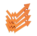 printare 3d PLA portocaliu