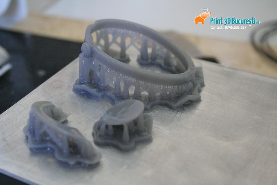 Prototip ceas printat 3D