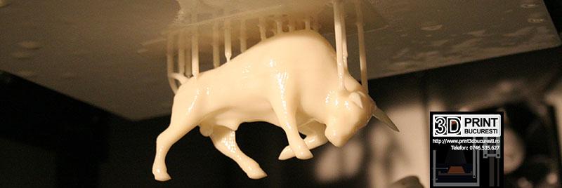 taur printat 3D rasina lichida