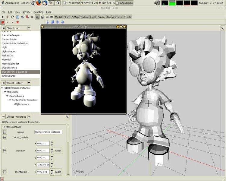 model digital printare 3D
