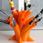 suport birou pixuri printat 3D