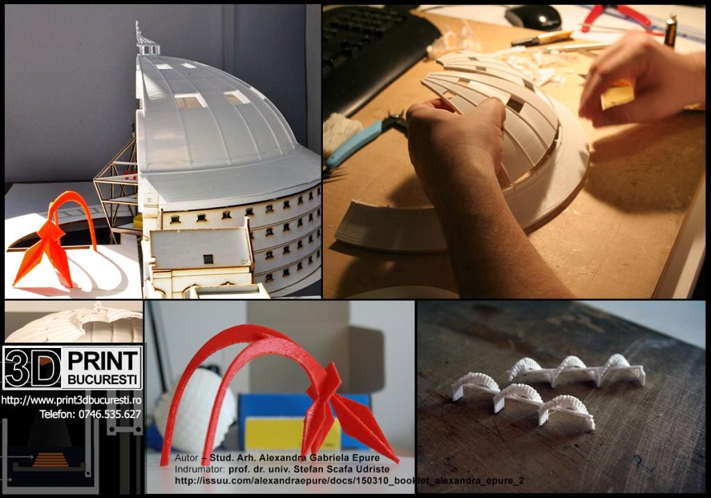 Macheta imprimanta 3D