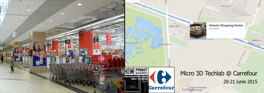 Imprimare 3D Carrefour