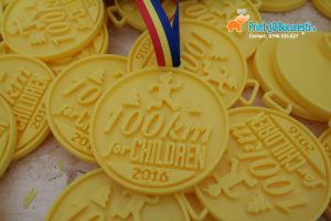 Executie medalii logo imprimate 3D