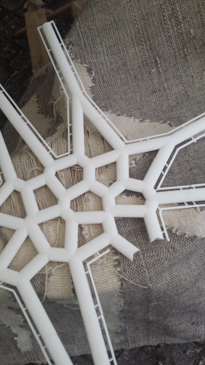 Printarea 3D & mestesugul tesutului la razboi