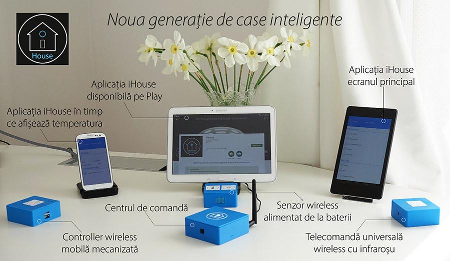 Casa inteligenta control Smartphone