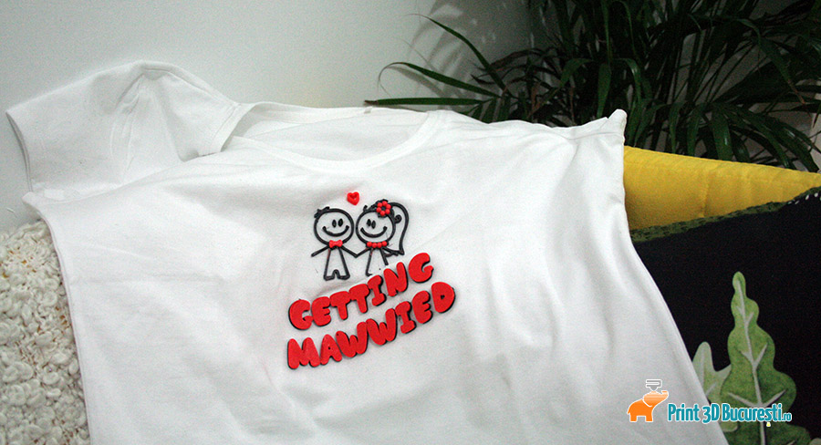 printare 3D pe tricou
