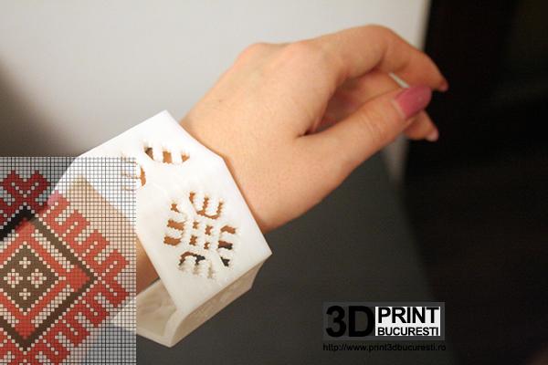 bratara etno printata 3D