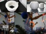 Glob ornament brad printat 3D