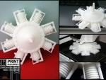 Motor radial printat 3D