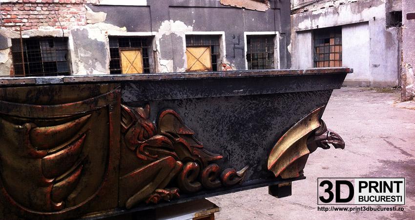 05. Restaurare sarcofag recuzita film Dracula