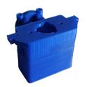 printare 3D PLA albastru