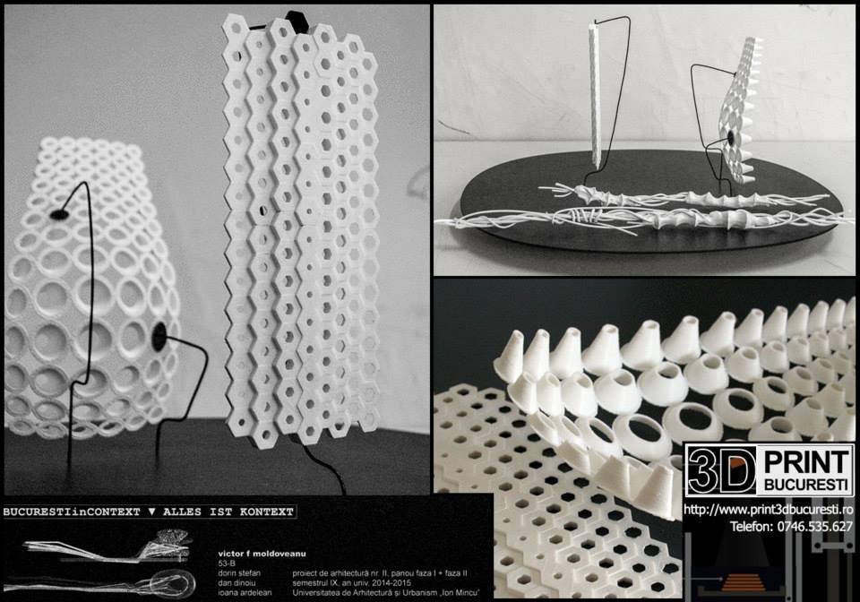 macheta printata 3D sala concerte