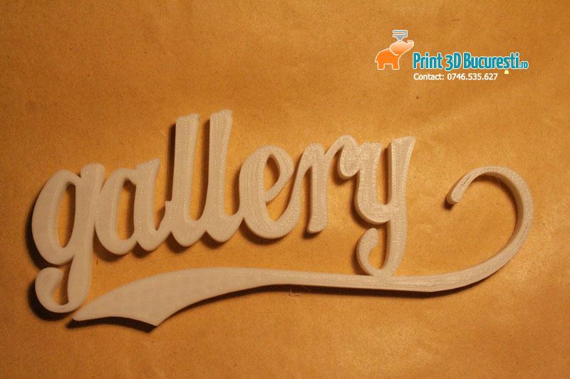 Logo firma printat 3D