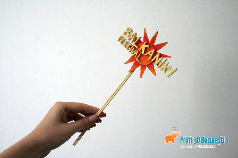 Logo printat 3D