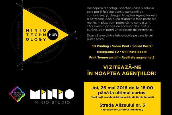 Minio Technology Hub & 3D Printing