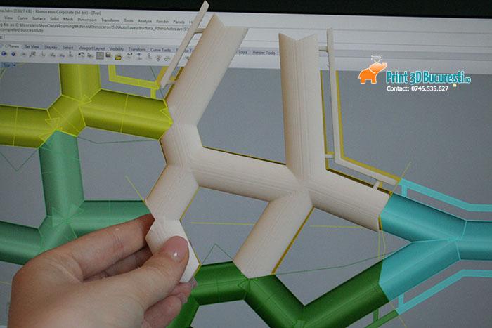 Structura plastic imprimanta 3D