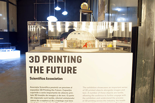 3D Printing Romanian Design Week