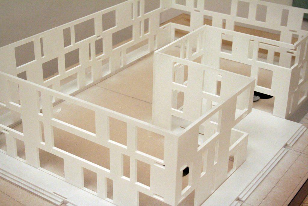 macheta imobiliara printata 3D