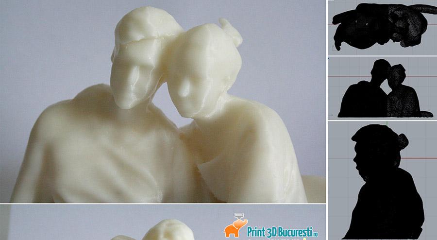 print 3D figurina nunta bucuresti